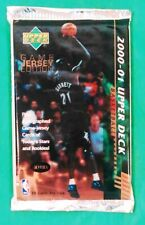 2000-01 Upper Deck Game Jersey Edition NBA Trading Cards Sealed Hobby Pack