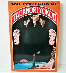 Tadanori Yokoo 100 Posters Book 1978 Large 11x15 Japan Artist Complete Flaws