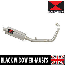 Yamaha MT 125 14 -18  Low Exhaust System Oval Stainless Steel Silencer 300SS