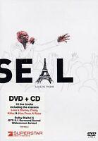 Seal - Live in Paris (DVD+CD) von Atkins, Martyn | DVD | Zustand gut