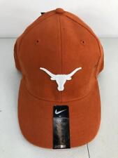 official photos 1d11e a2e7a NWT 18 Nike Youth NCAA Texas Longhorns Stretch Fit Hat Sz 8-20 Burnt Orange