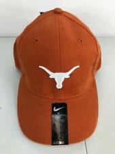 official photos 922ad d1dc2 NWT 18 Nike Youth NCAA Texas Longhorns Stretch Fit Hat Sz 8-20 Burnt Orange