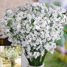 Lot 12 Gypsophile Fleurs Artificielles Plante Décor Maison Bouquet Mariage