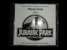 JOHN WILLIAMS - Theme From JURASSIC PARK - U.S. Promo CD 1993 - Steven Spielberg