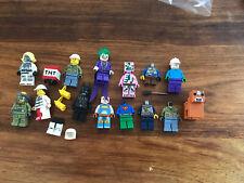 Assorted Lego Figurines Including Joker, Minecraft Etc