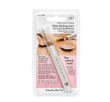 Depend Colourless Wax Styling Pen for Your Eyebrows No More Trouble with Eyebrow