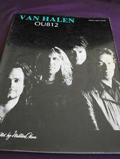 1988 Van Halen 'Ou812' sheet music book