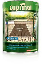 Cuprinol Ultra Tough Decking Stain 5L Natural Oak 5122409