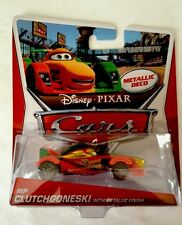 RIP CLUTCHGONESKI metallic deco CHASE disney pixar cars 2 k-mart days exclusive