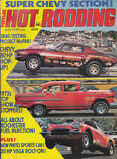 Popular Hot Rodding Magazine Project MoPar Pinto Sports Car July 1973