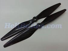 2 Pair 10x3.8 DJI 8MM Carbon fiber propeller for Multi-Copter shaft XA motor #15