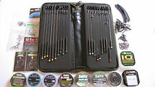 New carp rig wallet +20 assorted rigs, barbed or barbless, see my feed back 100%