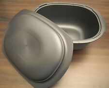 Tupperware H 31 ultrapro ultra pro 3,5 L Caisse rôle + couvercle ovale Anthracite NEUF