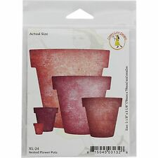 Nested Flower Pots, Steel Cutting Dies Cheery Lynn Designs - New, Xl-24