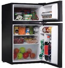 Compact Refrigerator 3.2 Cu Ft Mini Fridge w/ Freezer Home Office Dorm Game Room