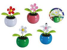2 x flip flap Wackelblume tanzende Blume solarbetrieben Geschenkartikel Autodeko