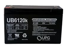 UB6120 - 6 Volts 12Ah -Terminal F1 - Rechargeable Battery- D5736