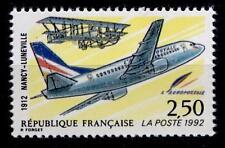 Flugzeug Boeing 737, Farman-Doppeldecker. 1W. Frankreich 1992