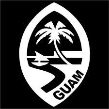 guam decal ebay Guam Letter guam flag crest decal car vinyl 5 inch by 5 inch