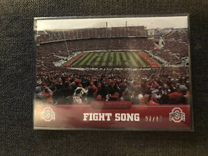 2015 Panini Collegiate Ohio State Black FIGHT SONG  #5 07/10 Only 10 Made RARE !