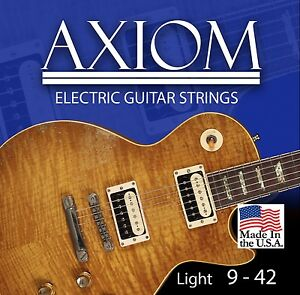 Axiom Electric Guitar Strings 9-42 Made in USA