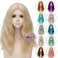 50CM Long Curly Lolita Harajuku Party Hair Cosplay Wig Heat Resistant+ Wig Cap