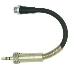 SENNHEISER LEMO 3 PIN TO 3.5mm SCREW ON JACK PLUG TRANSMITTER MICROPHONE ADAPTER