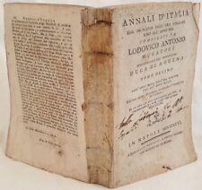 LODOVICO ANTONIO MURATORI ANNALI D'ITALIA TOMO DECIMO 1796 ANNO 1160 1255