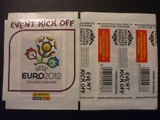 BUSTINA PACKET SOBRE PANINI UEFA EURO 2012 EVENT KICK OFF ITALIA