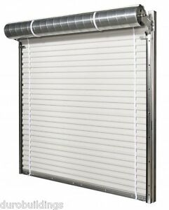 Duro STEEL JANUS 8'W by 9'T Economical Commercial 1950 Series Rollup Door DiRECT