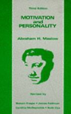 Motivation and Personality by Robert Frager, James Fadiman and Abraham H....