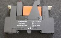 SCHRACK 4 Stück Relais RT 78625 Sockel RT 424024 Relais 24VDC inkl. LED Einheit