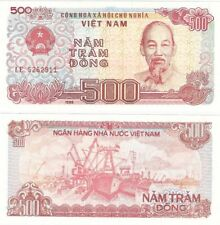 Billets de l'Asie, provenance Vietnam