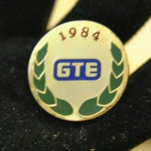 "Vintage 1984 La Olympic Games Sponsor Lapel Pin GTE 3/4"" California"