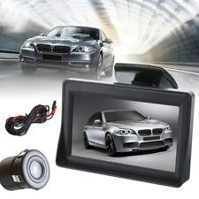 4.3'' LCD Monitor Car Rear View Kit + Reverse Parking Backup Night Vision Camera