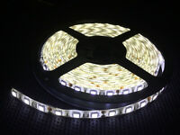 NEW 5M 3528 2835 5050 5630 Waterproof SMD Flexible LED Strip Light+ DC Connecter