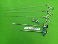 22 Fr Cystoscope Sheath Bridge Endoscope 4mm 30 Deg Urology 4-7Fr Biopsy Forceps