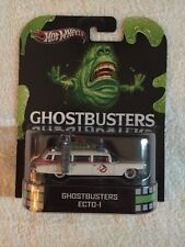 Hot Wheels 2012 Retro Series Die-Cast Ghostbusters ECTO-1 1:64 Scale
