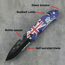 AU Design Folding Knife Camping Survival Knife Modern Pocket Knife Collectors