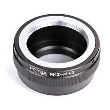 FOTGA M42 Objektiv Lens Adapter für M4/3 Micro 4/3 LX100 GM1 GM5 EPL7 G3 Kamera