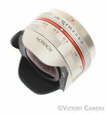 Rokinon 7.5mm f3.5 UMC Fisheye Manual Focus Lens (Micro 4/3 Olympus Pen) (71-19)