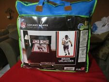 CHICAGO BEARS BRIAN URLACHER NFL TWIN COMFORTER SET FOOTBALL