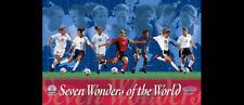 US Women's Soccer SEVEN WONDERS Poster (2003) MIA HAMM, Brandi Chastain, Foudy++
