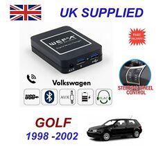 Para VW Golf streaming de música cargador de teléfono Bluetooth módulo SD AUX CD 8pin