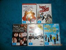 How I Met Your Mother Season 1 2 3 4 5 (DVD, 2010, 15-Disc Set) TV comedy series