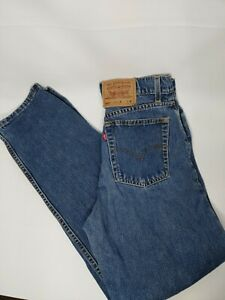Vintage Levis Womens Jeans 560 Loose Fit Straight Leg High Waist Mom Size 9