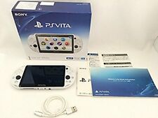 PlayStation PS Vita Wi-Fi Console Glacier White PCH-2000ZA22 Japan F/S