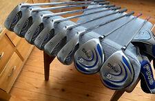 Ping G5 Golf Clubs 5-PW Blue Dot + 3 & 5 Woods