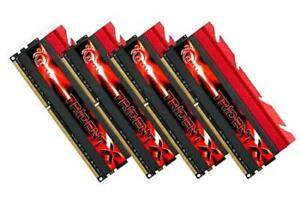 32GB G.Skill DDR3 PC3-19200 2400MHz TridentX Series CL10 Quad Channel kit