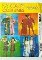 NEW McCall's Costumes ALL SIZES King Queen Devil Romans Halloween Pattern 2896